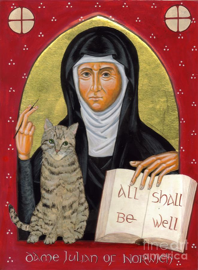 Julian of Norwich is credited with being the first woman to write a book in English in the 1300s.