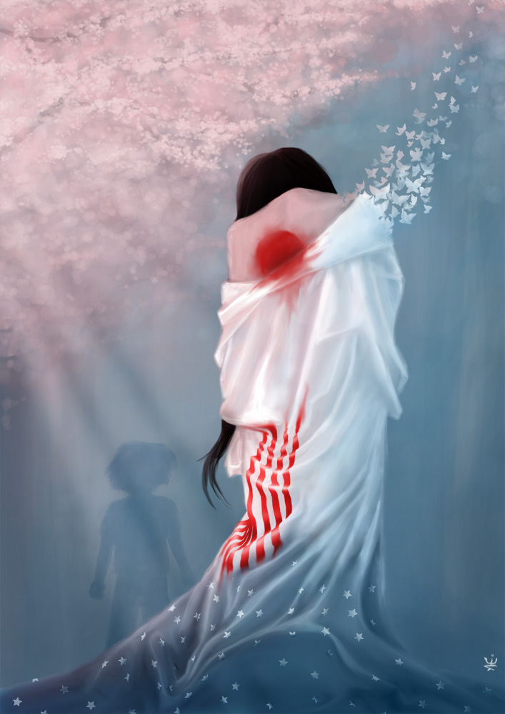 Artwork of Madama Butterfly by Esther Wagner