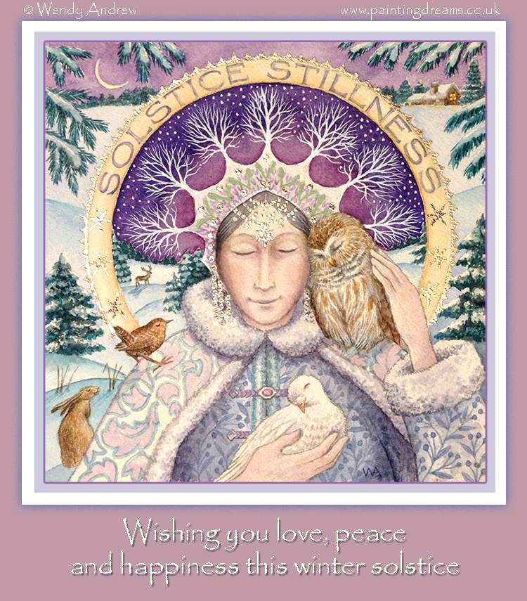 May you have a blessed Winter Solstice.