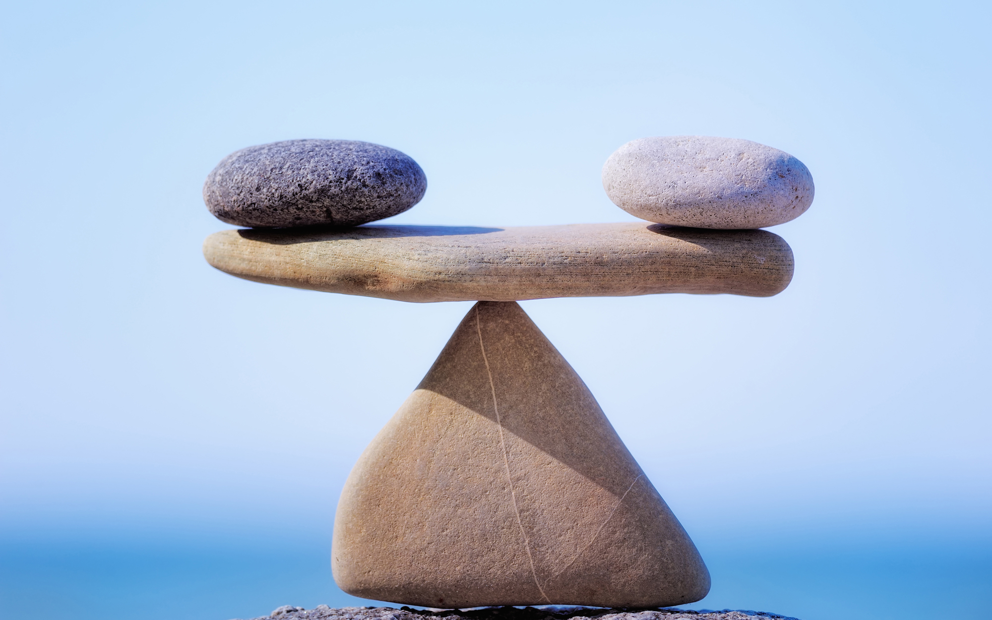 Bringing balance in our lives between our actives and our inner journey of meditation.