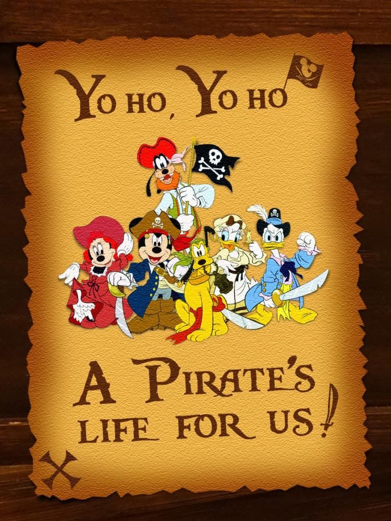 Disney definitely has a Pirate theme with its movies and at Disney World.