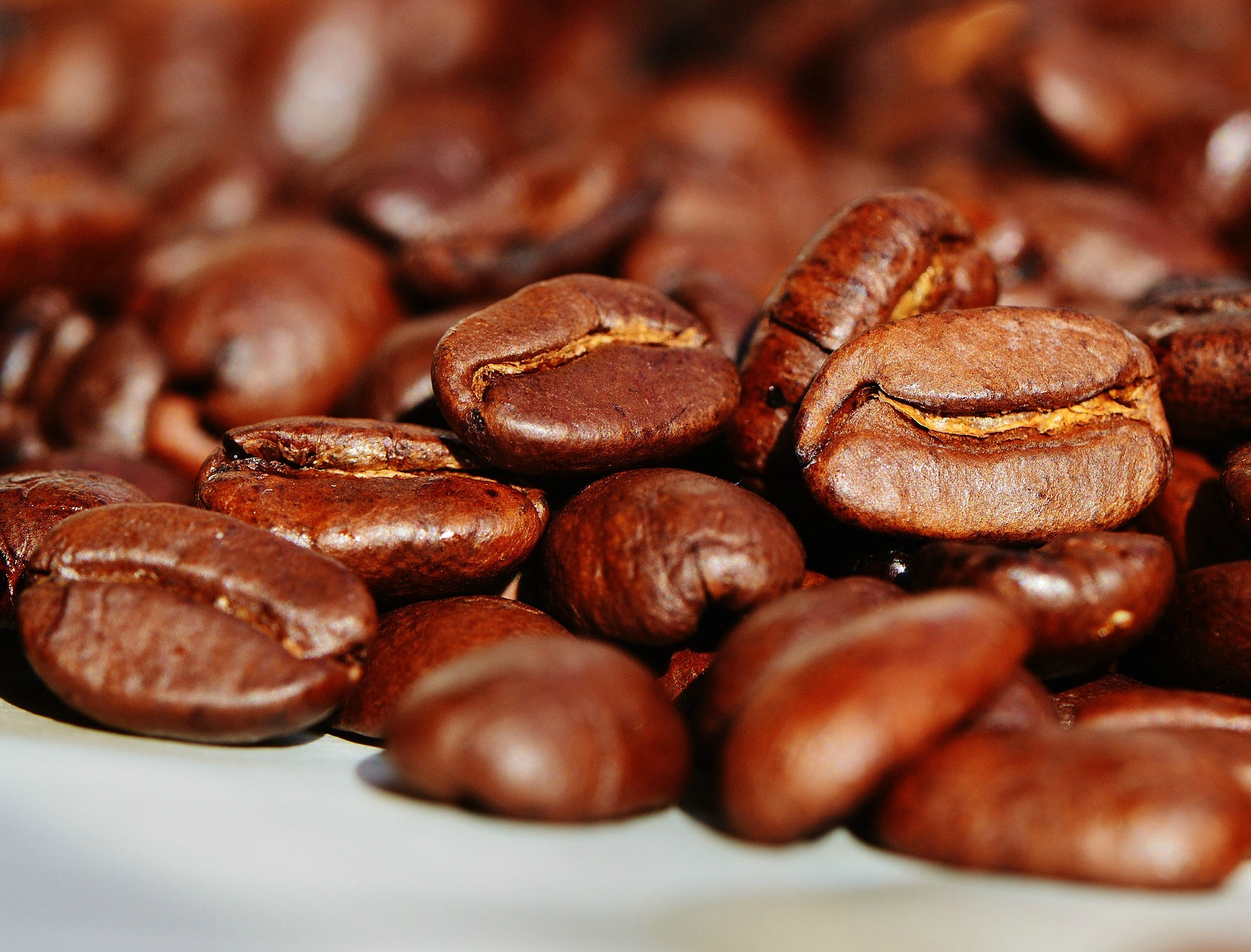Coffee beans. We didn't always have coffee.