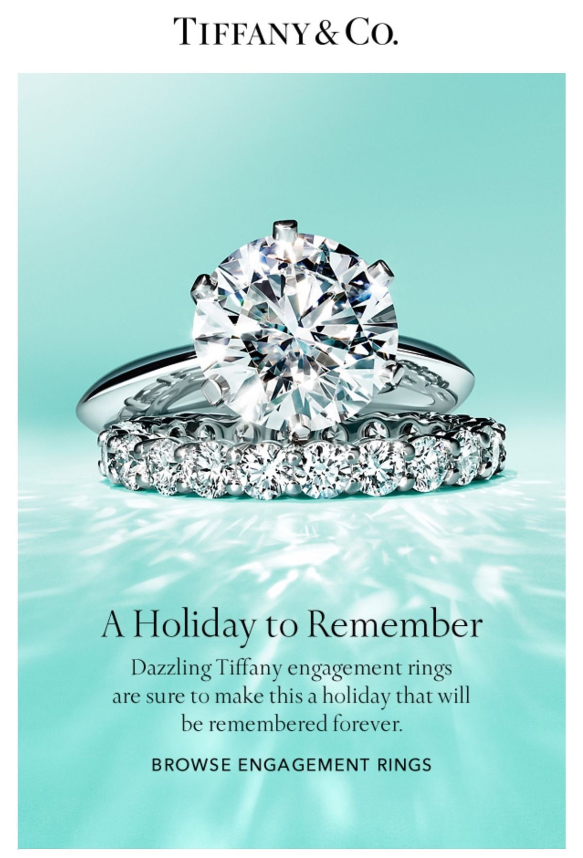 It's a matter of marketing that makes us believe we should have a diamond ring when we get married.