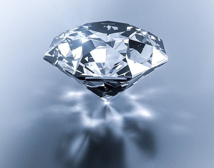 Diamonds are forever. Or, so they say. Maybe we don't need a diamond for a wedding ring.