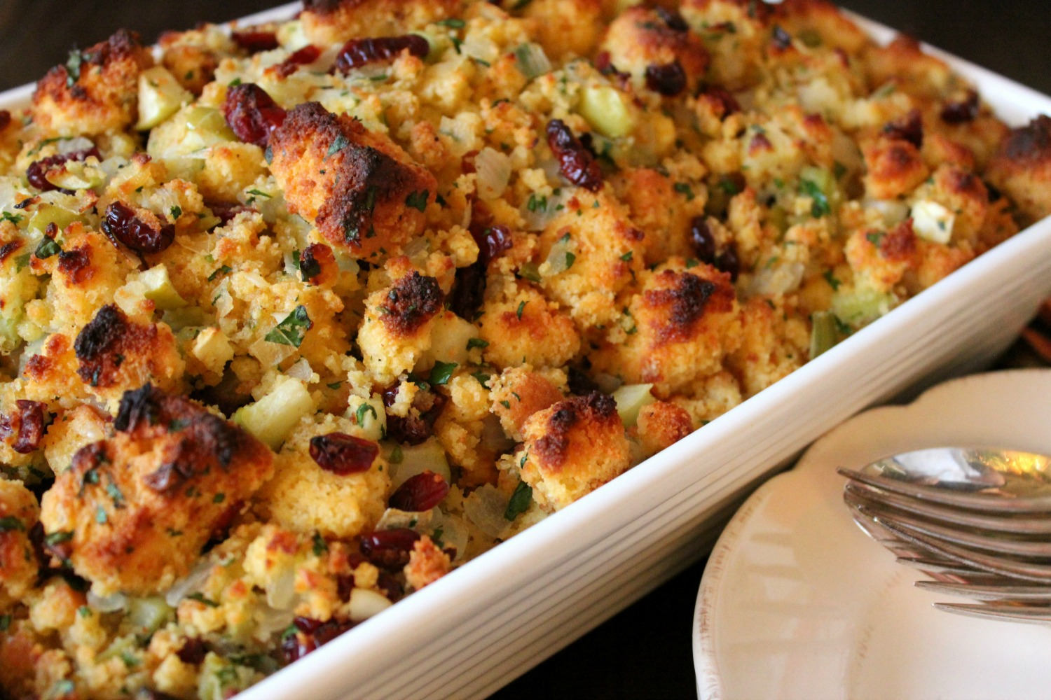 Some call it stuffing, some call it dressing. In any case, it goes with turkey for Thanksgiving.