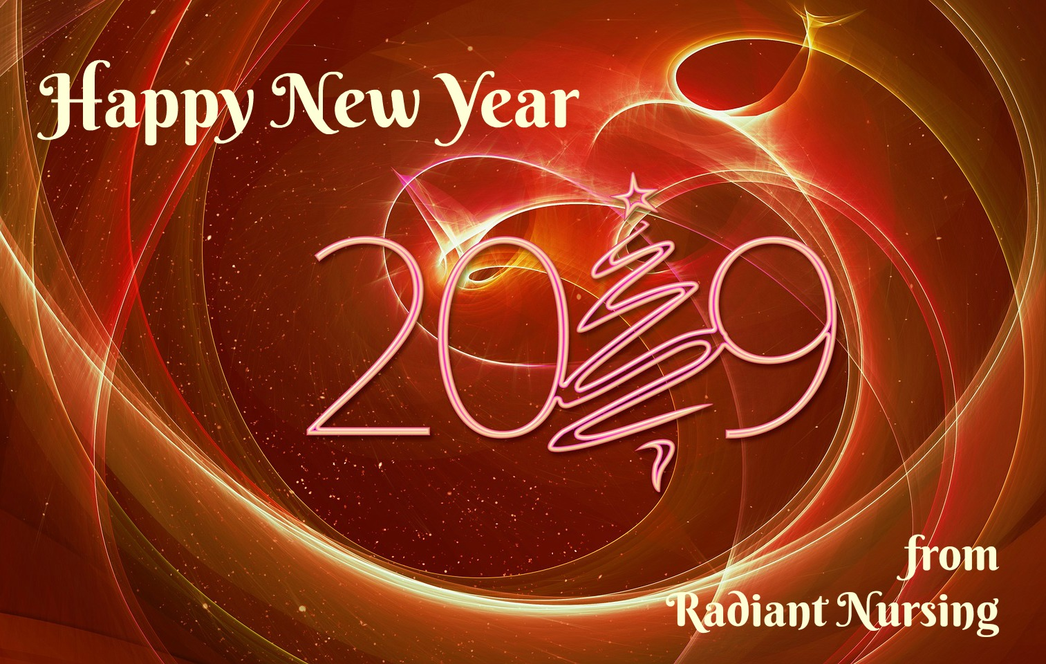 Welcome to New Year 2019 from Radiant Nursing.