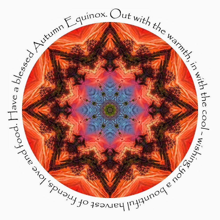 Autumn Equinox mandala.