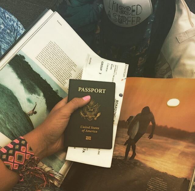 Le passeport (duh)