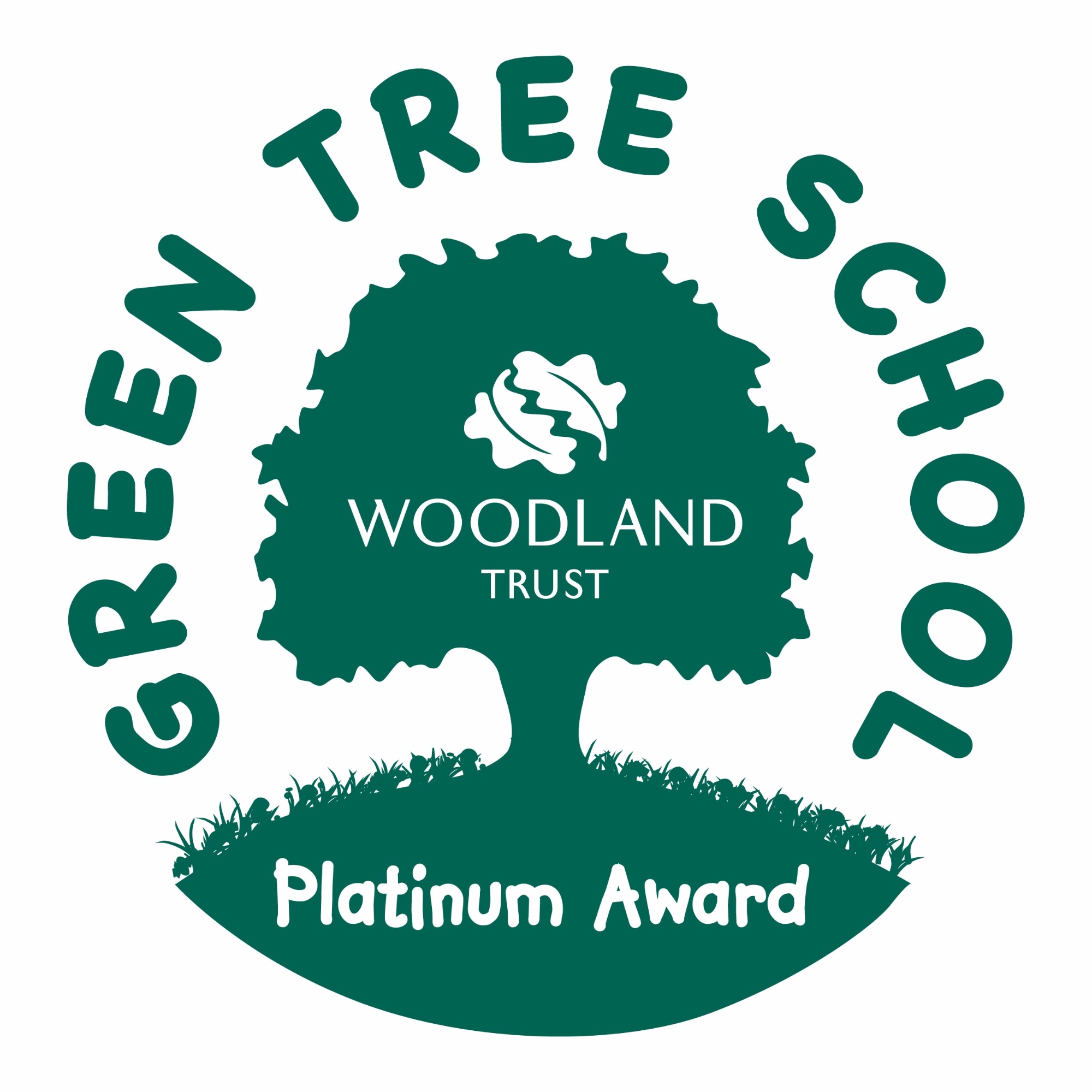 Green Tree School Platinum Award badge.jpg