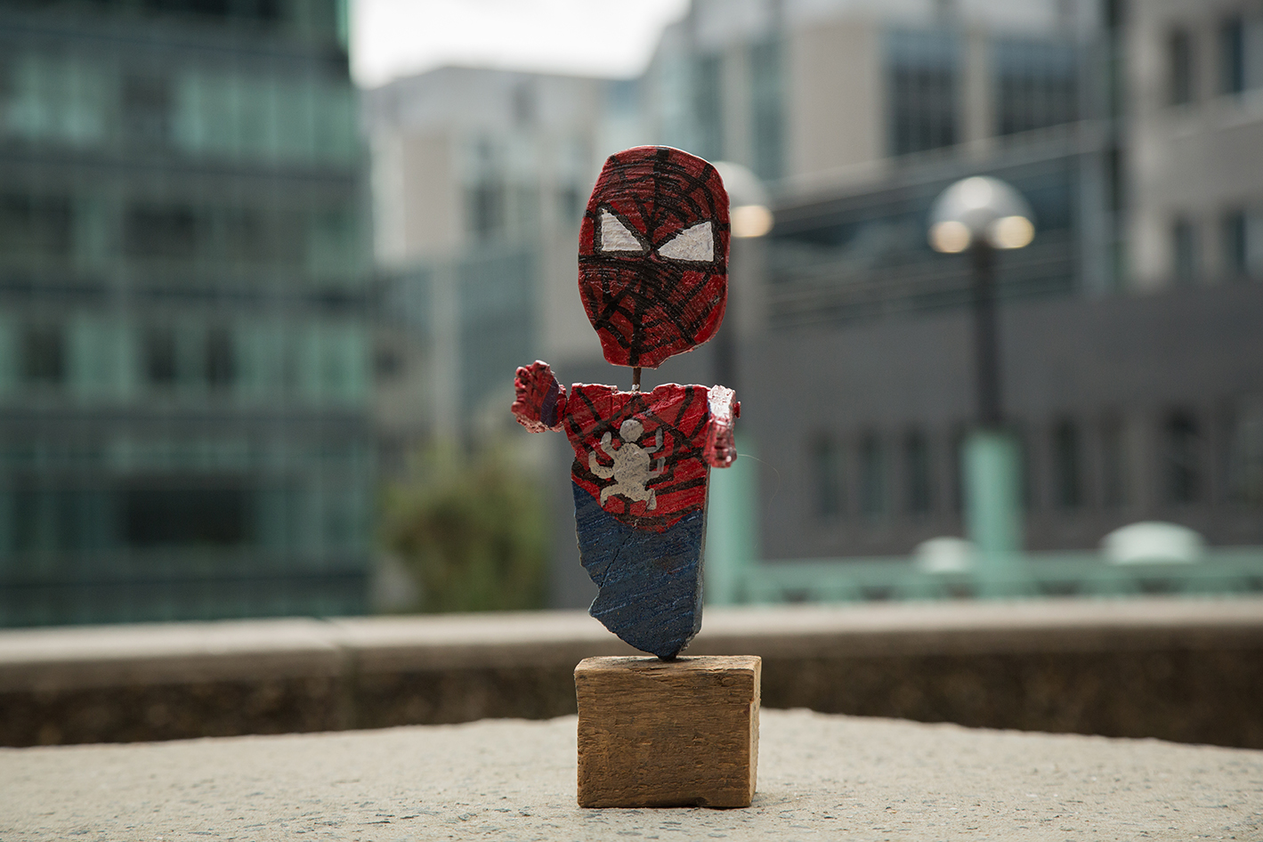 Spiderman is made of Wood