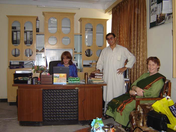 Cathy Najib and Mary in Jalalabad.jpg