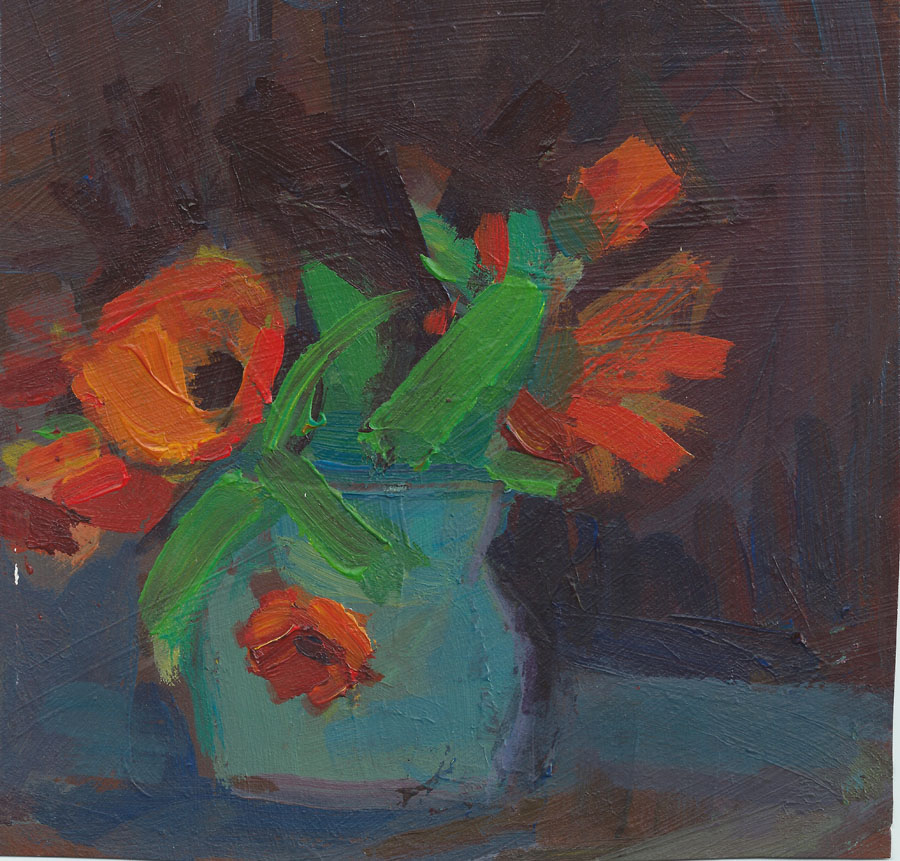 Marigolds in Vase.jpg