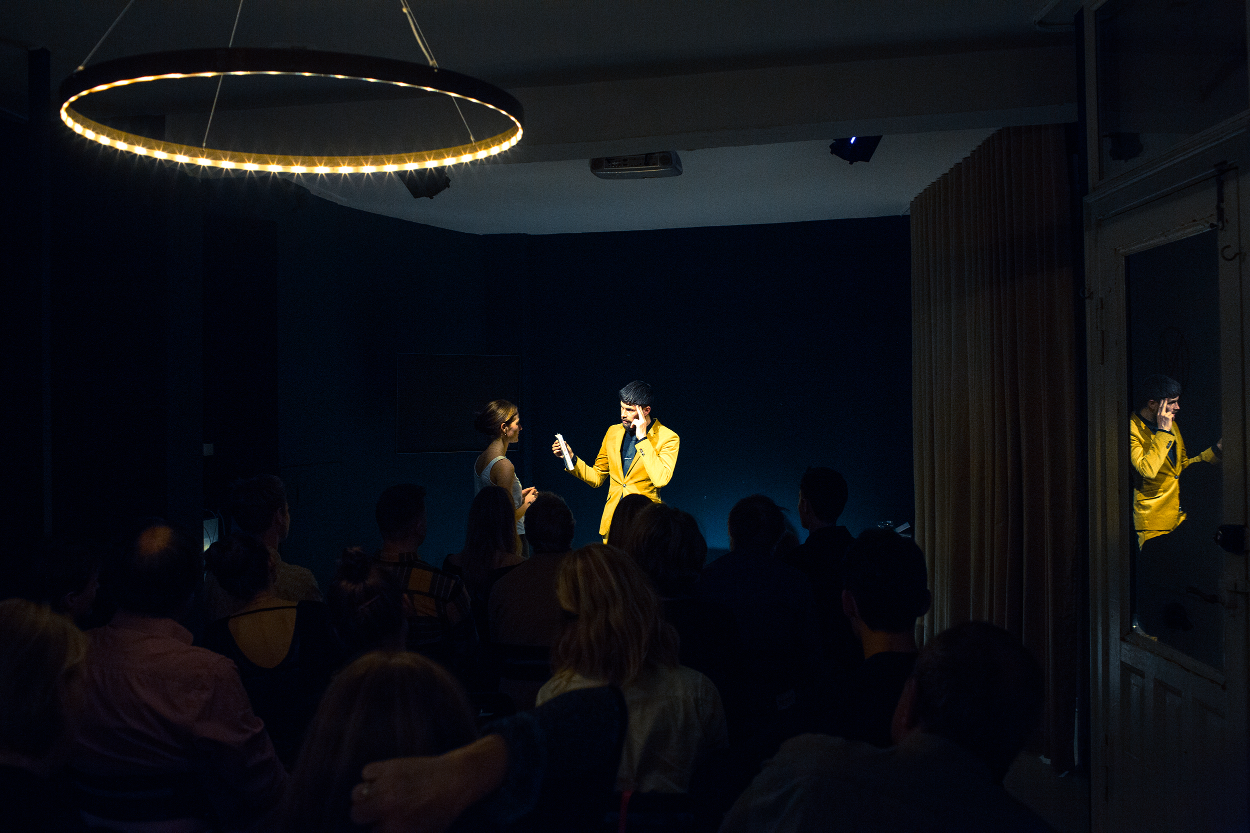 Performance at The Magic Room by Magic Malmstrøm