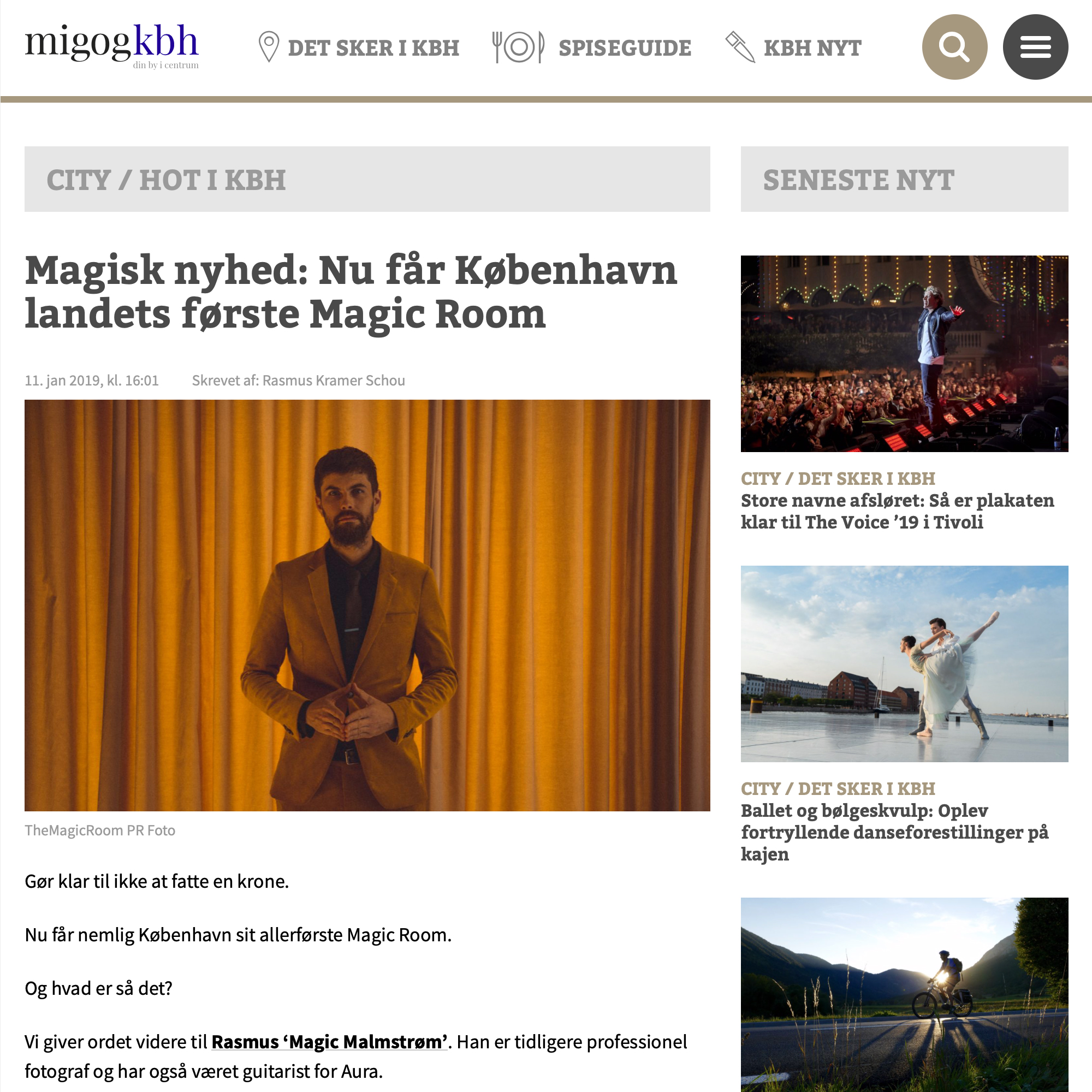 Interview with Mig og Kbh