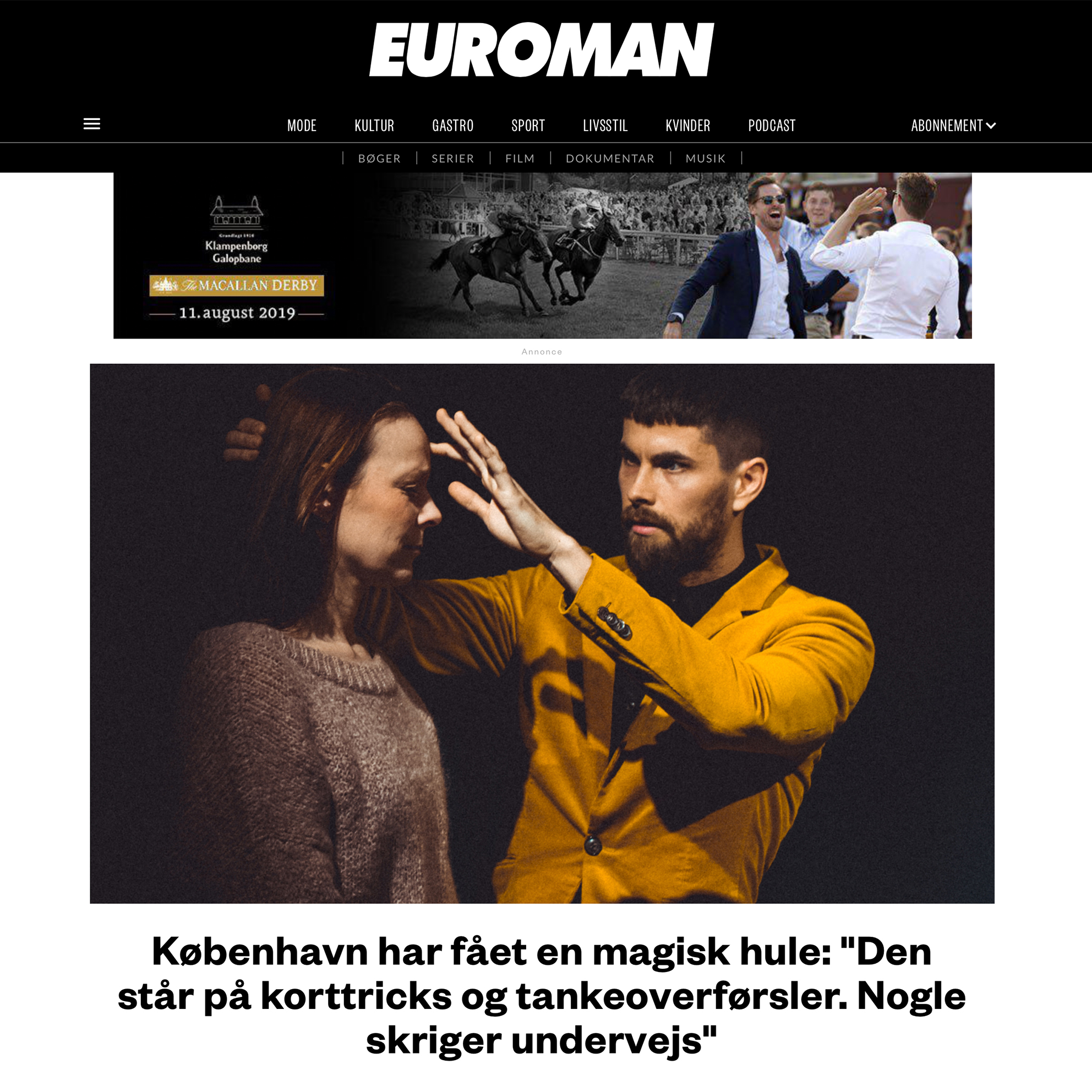 Interview with Euroman