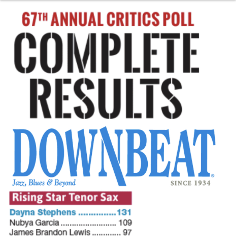 Congrats to All listed and not ! Of course music pursued like that of a scientist is a life's work , so we press ahead to find new discovers and of course the truest versions of ourselves !   Read -  http://downbeat.com/news/detail/downbeat-announces-winners-of-2019-critics-poll