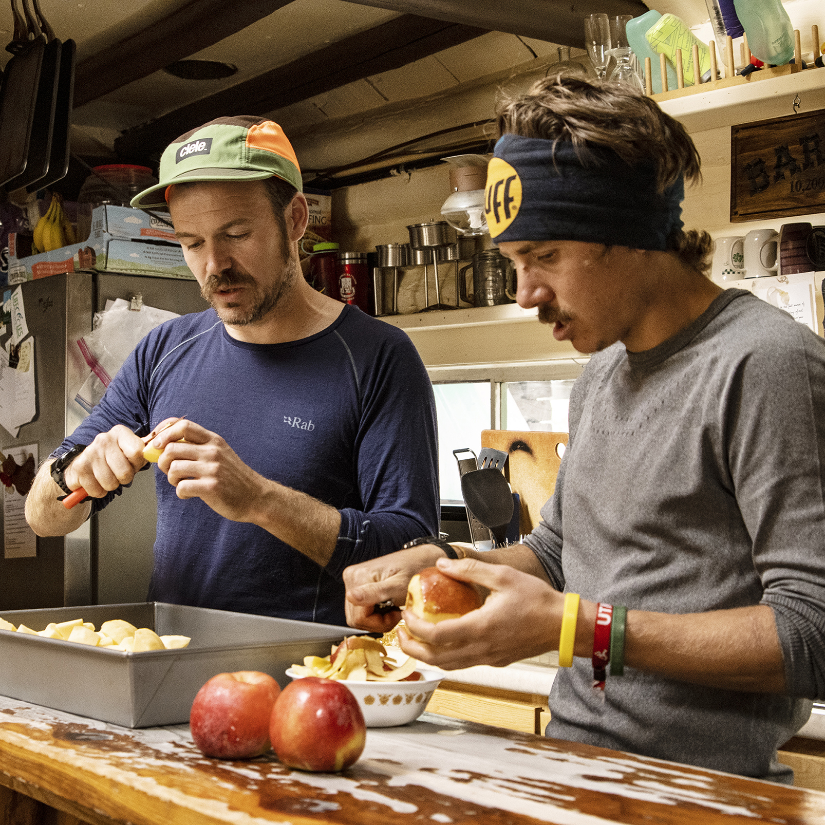 Eat, Run, Enjoy - Barr CampBarr Camp, Colorado is truly a remote place, 3000 meter up on Pikes Peak. We and Billy White met ultra runner Zach Miller who had invited us to his home and workplace to talk about food and his love for running.
