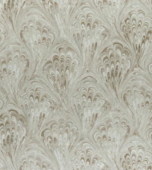 Pavone Ivory fabric by Clarke & Clarke