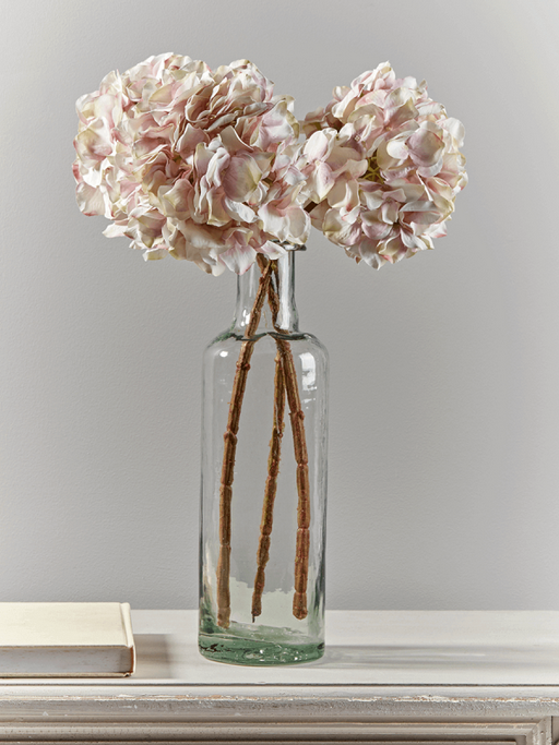 Cox and Cox  - £35.00 - Three Faux Vintage Blush Hydrangeas