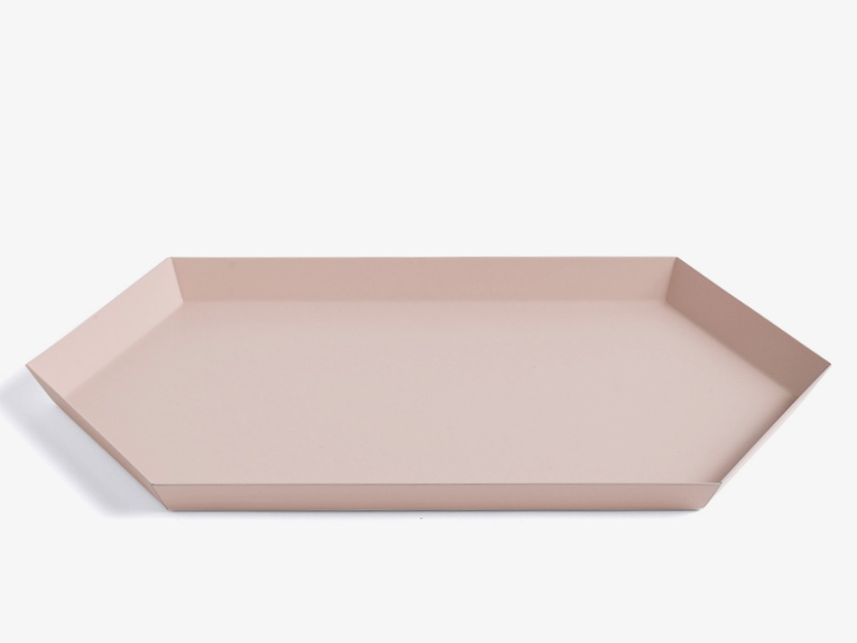 Nest.co.uk, Hay, Kaleido Tray Peach, £13.00