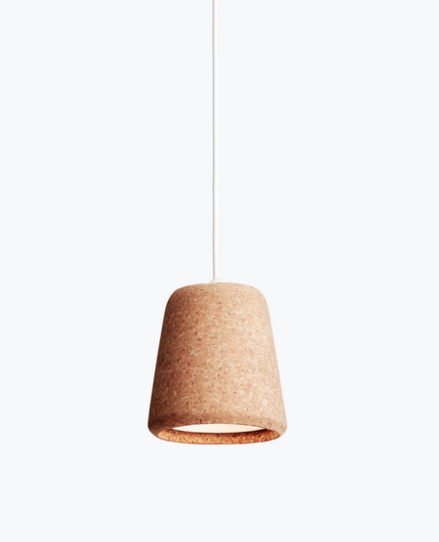 Material Pendant Light in neutral cork by New Works £122.66