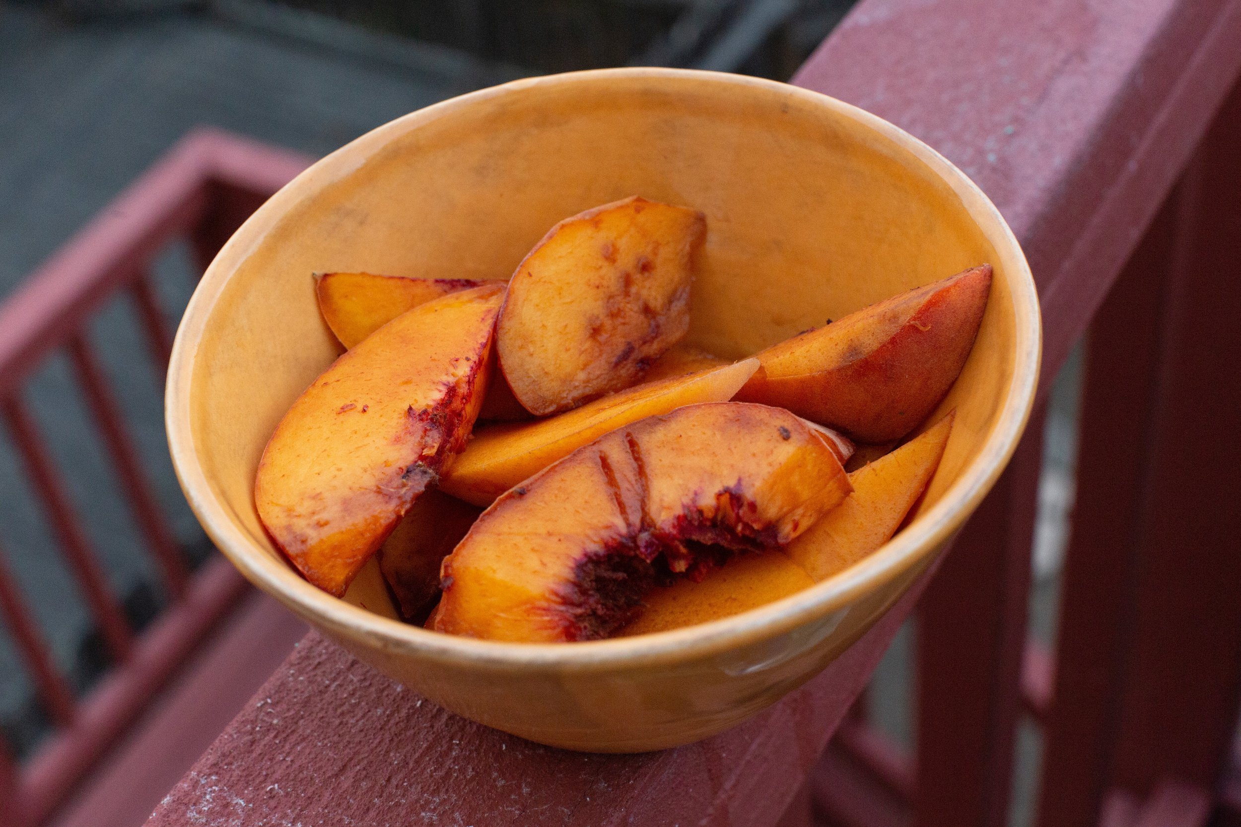 What to do with peaches - Besides cut em and eat em?