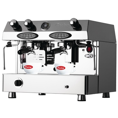 Commercial 2 Group Espresso Machine with Grinder - $350 fully setup with a bar. We can also supply staff, coffee and milk.