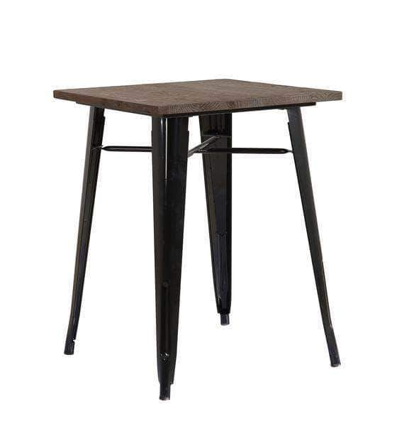 Black Tolix Table 60cm x 60cm x 76cm - $40 each or $30 with any cocktail package.
