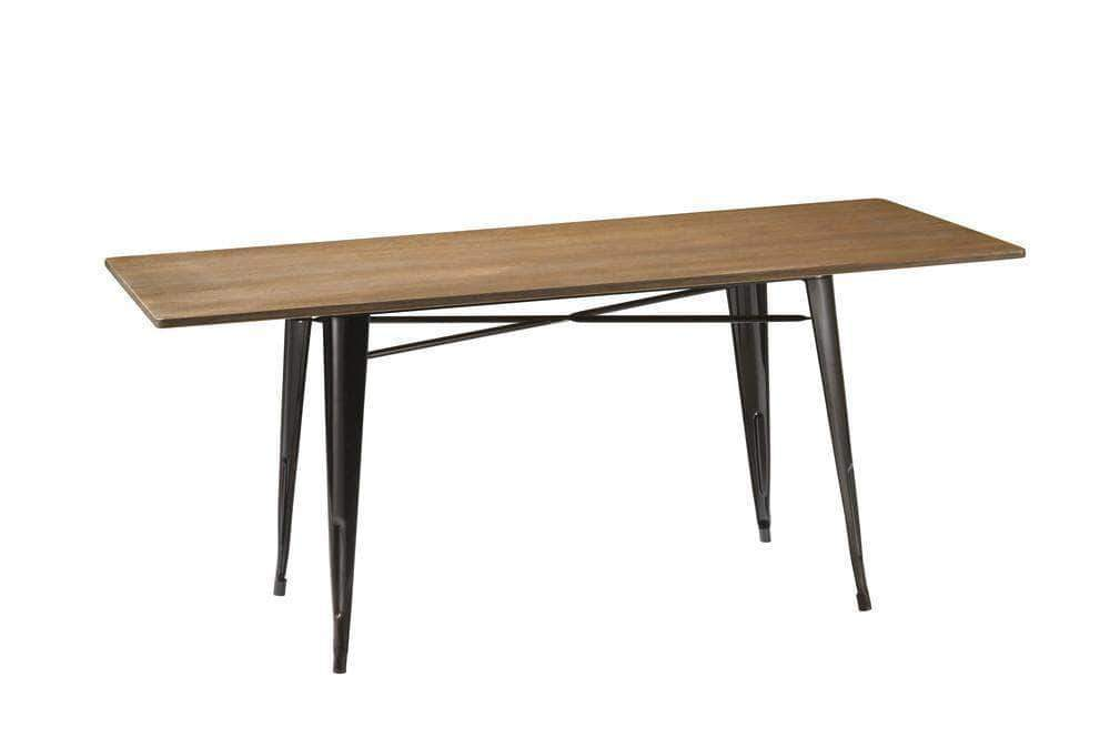 Black Tolix Table 120cm x 80cm x 75cm - $80 or $50 with any cocktail package.
