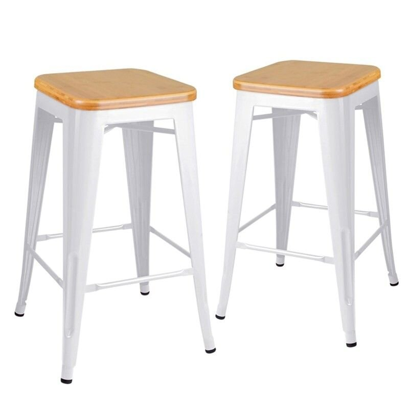 your bartender white tolix stool wood bamboo top hire perth.jpg