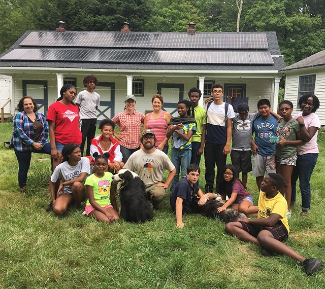 We had a great time hosting Peekskill's Nature Connection Camp, run by @neweracreativespace. We connected with the kids, we connected with the earth, the plants, the animals. We connected with ourselves. Welcome back anytime! #ecologicalcitizenship #ecologicalcitizen #ecologicalcitizensproject