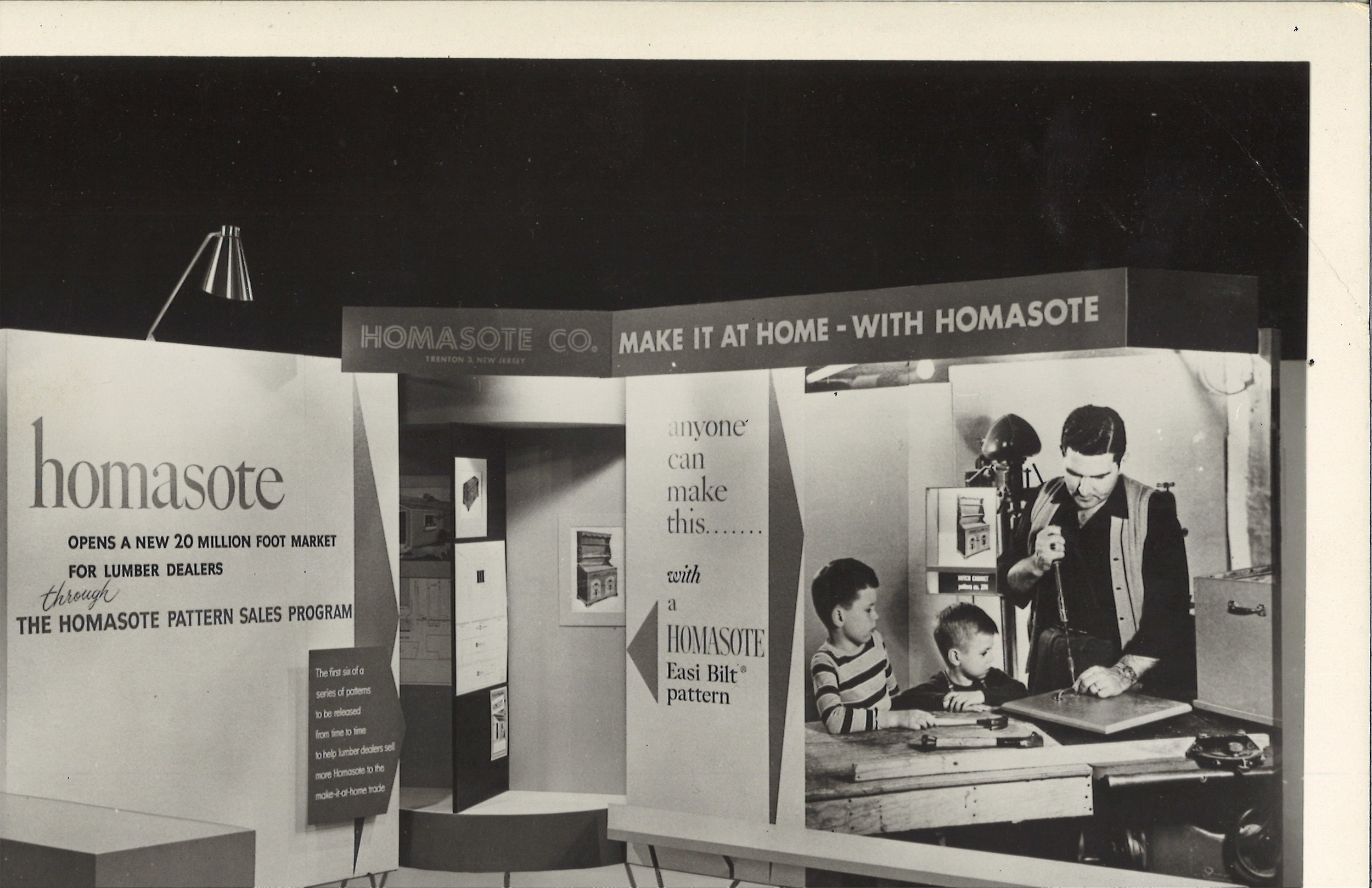 Homasote Company, traveling exhibit