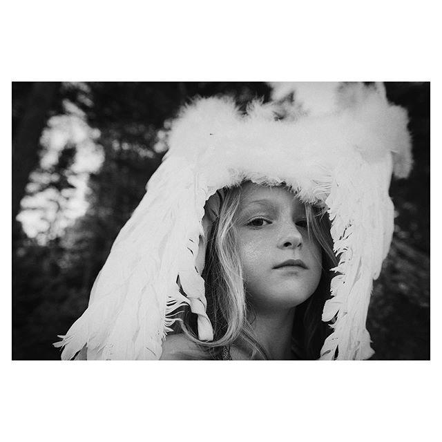 My baby bird #summerproject #mymuse #mood #nature #portrait #kidsfashion