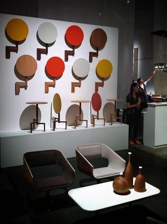 Channels furniture at Designjunction