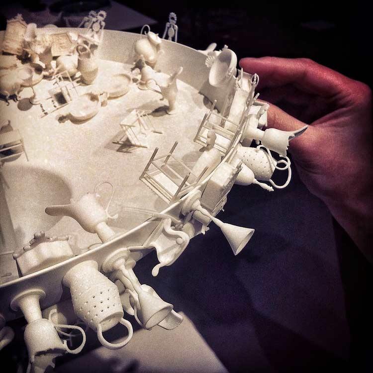 miniature still life pieces