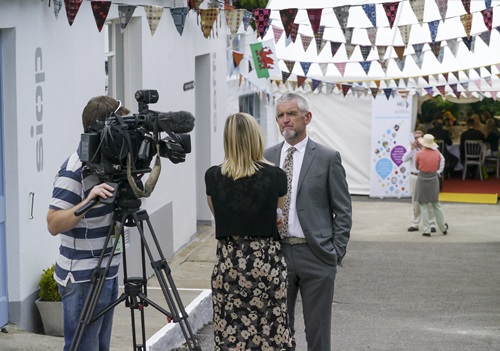 Press and media interviews