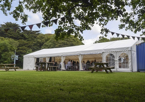 marquee at the mill