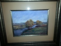 """Fall on the Middle Loup"" by Tresa Haney Reserve: $150"