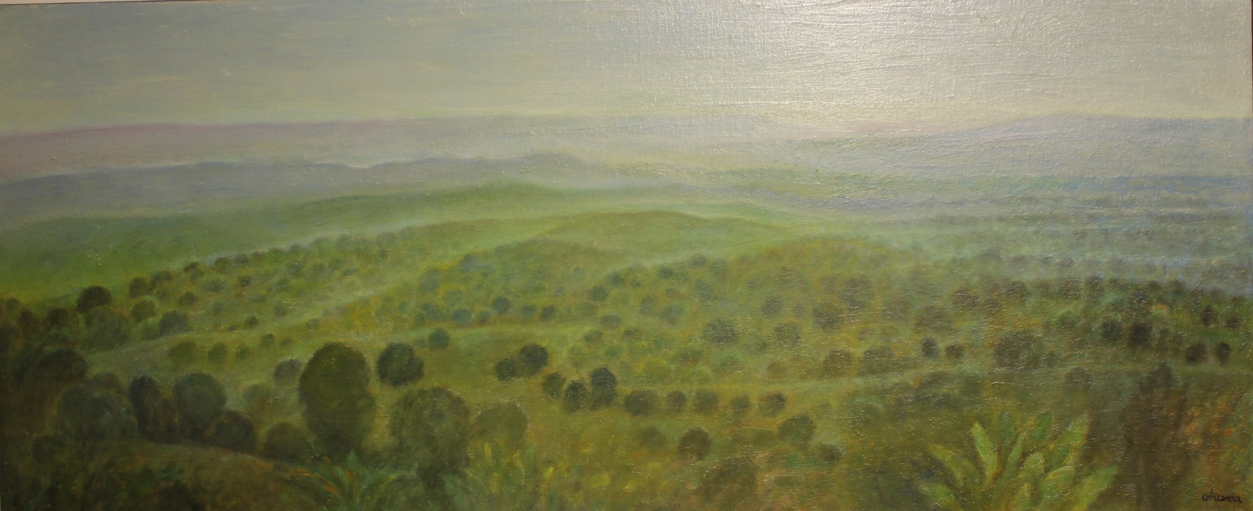"""Berkshires"" Oil on Canvas 30""x60"""