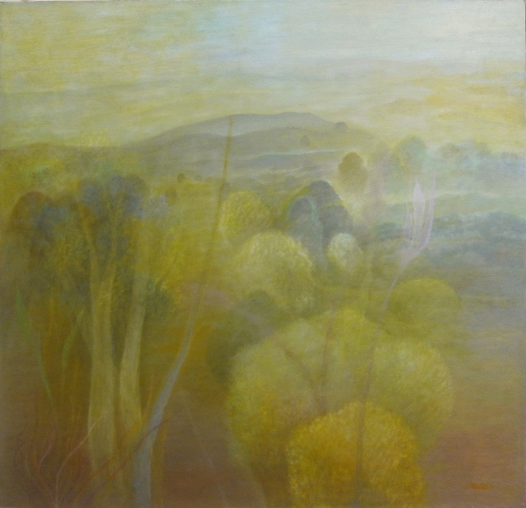 """Early Dawn #2"" Oil on Canvas 42"" by 42"""
