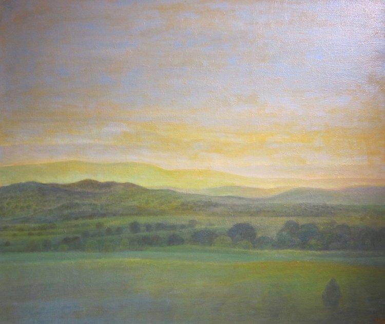 """Twilight"" Oil on Canvas 32""x38"""