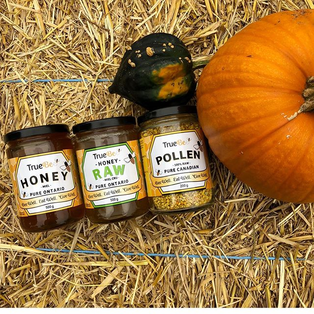 HELLO OCTOBER! 🌻 ... SHARE the BUZZ + SAVE the DATE!!! 🐝 TrueBee Honey will be sampling + selling our fresh from the hive LOCAL unpasteurized + raw honey, bee pollen + 100% all natural beeswax THIS SATURDAY 10-4pm at Cornerstone Organics Fall Harvest Festival.  Lots of amazing local vendors- meet the makers of your favourite things and support local! 💛 ... Live music, kids activities, yummy foods and quality, local products! It's going to be another wonderful market at @cornerstoneorganics🍂