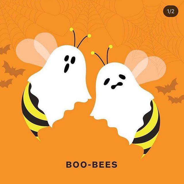 HapBEE Halloween, Beeuties! 🎃🐝 Bee safe 🖤 Watch out for the  Boo-Bees! 👻🐝🐝 #trickortreat #hivemagic #goodvibesonly