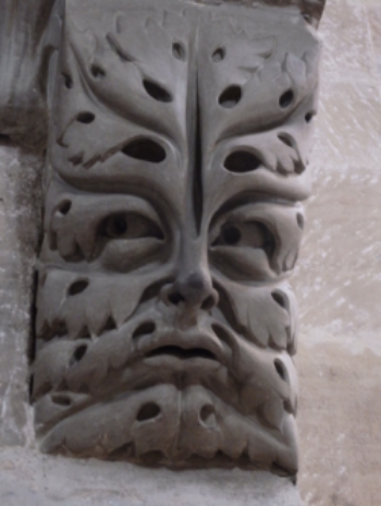 The Bamberg Green Man (c. 13th century), Bamberg Cathedral, Germany