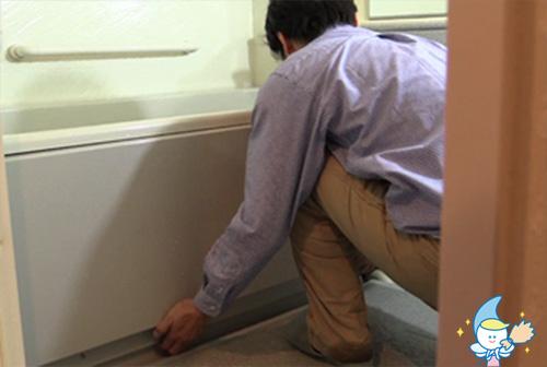 レンタル&クリーニングの 格安なのに丁寧な浴室・おフロのお掃除・ハウスクリーニング手順6
