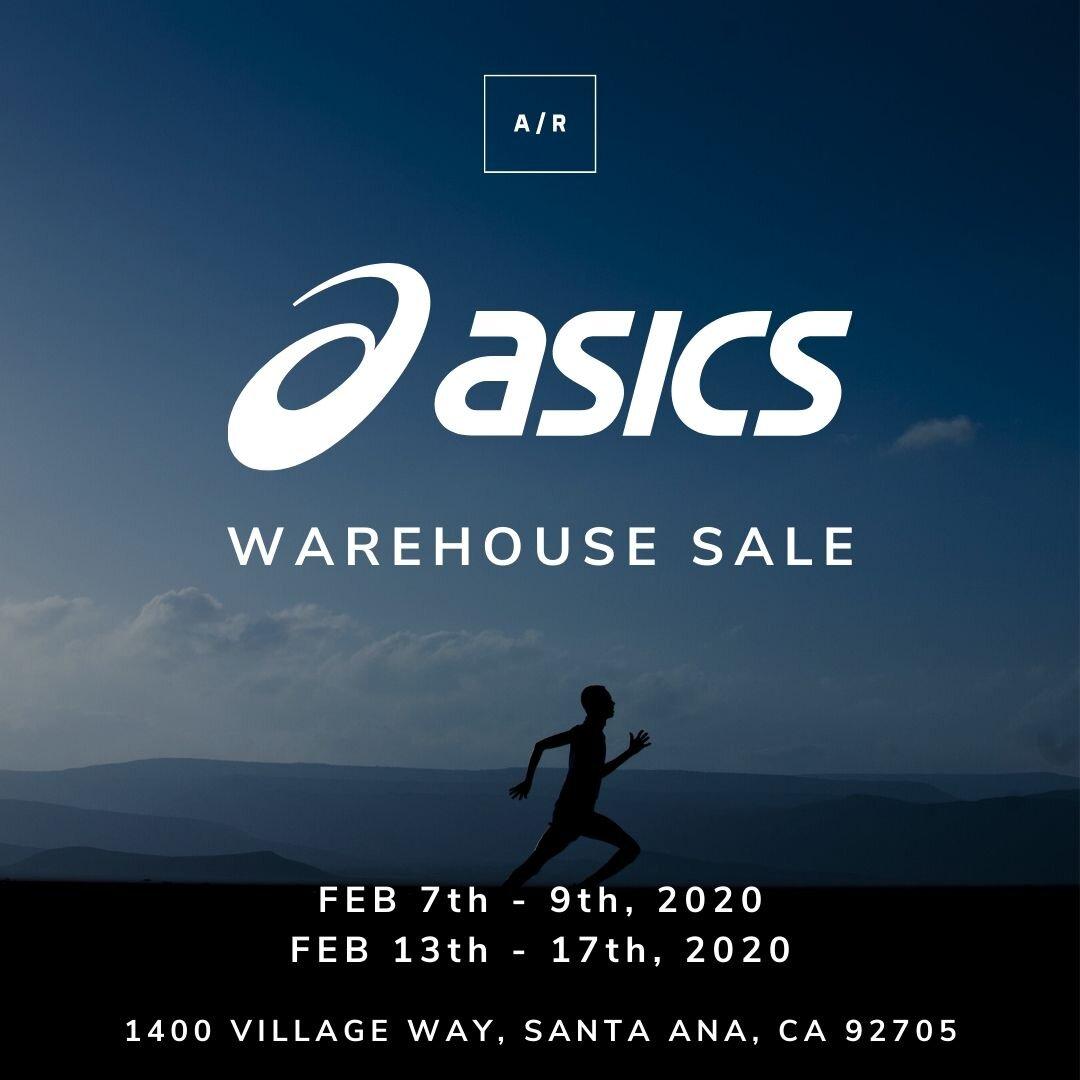 ASICS Warehouse Sale - Santa Ana, CA