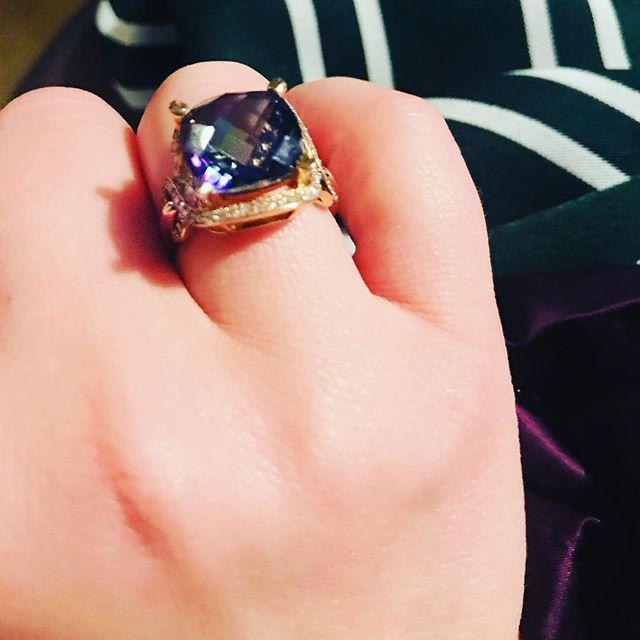 More birthday fun! ❤️ I love my new ring! 😍
