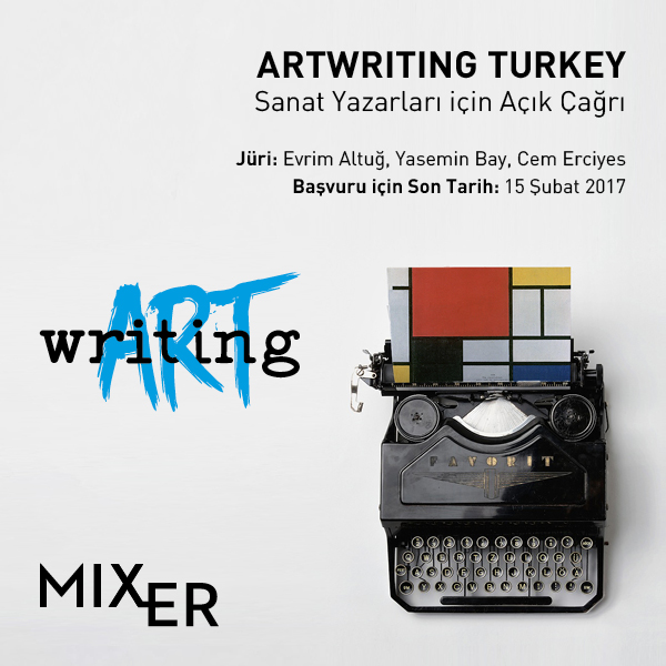 Open Call For Art Writers