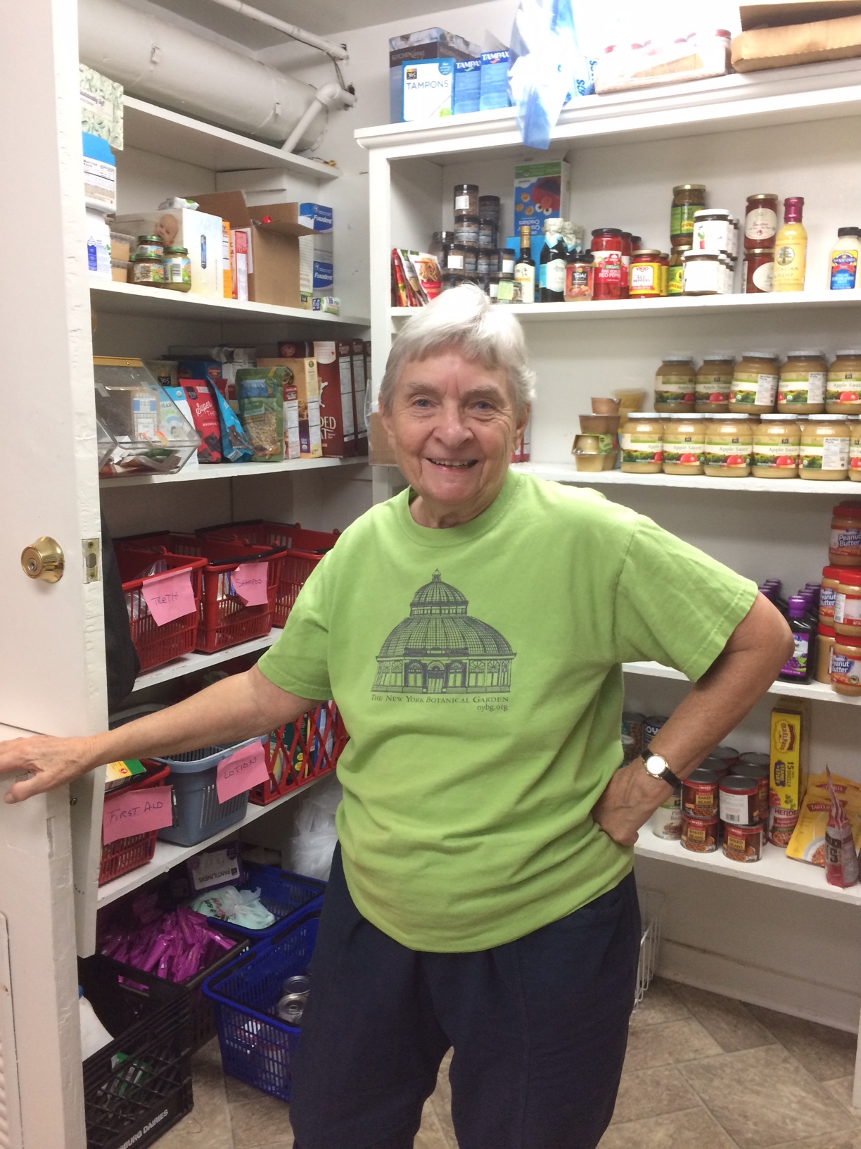 Bobbi is a long-time, committed Samaritan volunteer.