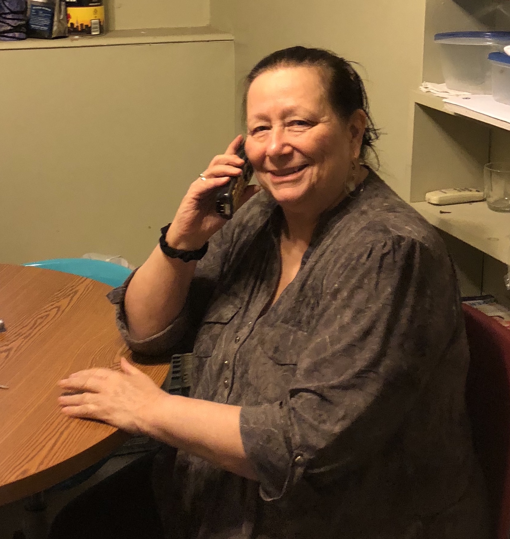 Sharon, Samaritan Program Director, takes calls from hundreds of people - like Jennifer - who are facing crisis. She provides our members with the knowledge, tools, and emotional support needed to rebuild their lives.